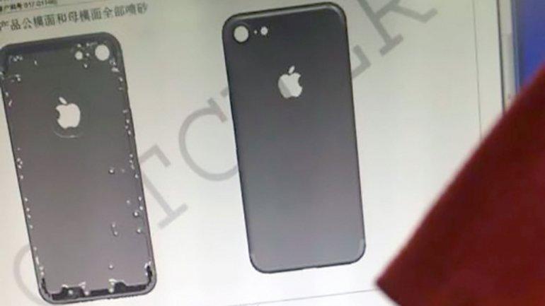 Imágenes de un supuesto iPhone 7 revelan más detalles del nuevo diseño
