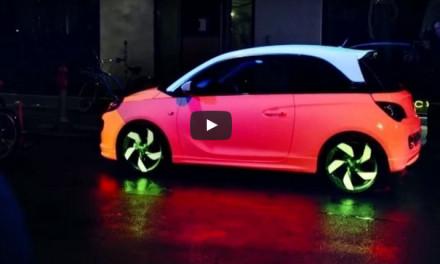 Auto que cambia de color