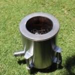 Una estufa ecológica que reduce en un 95% las emisiones de humo