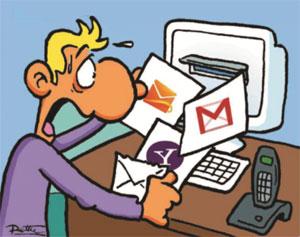 Como crear y guardar una copia o respaldo de los correos electrónicos recibidos
