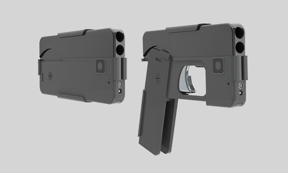 Arma con forma de Smartphone