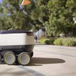 El futuro del delivery: robots y drones que hacen entregas 24 horas al día